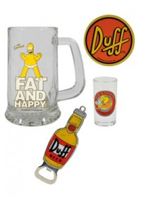 Pivná sada Simpsons Men´s Beer Duff Beer