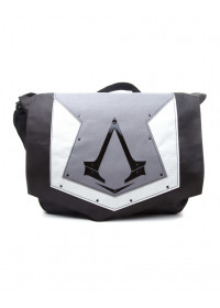 Taška cez rameno - Assassins Creed Syndicate -  Grey Flap Logo