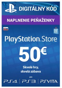 PlayStation Network Cards (PS4) SK - 50 € DIG