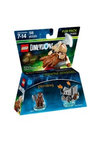 LEGO Dimensions Fun Pack - LOTR Gimli 71220 Lord of The RIngs