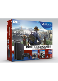 PlayStation 4 1TB + Watch Dogs a Watch Dogs 2