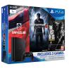 PlayStation 4 Slim 1TB (Gamer Pack) 3 hry: (Uncharted 4, DriveClub, The Last of Us)
