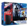 Playstation 4 1TB Slim - FAMILY Pack - 3 hry: (Uncharted 4, DriveClub, Ratchet&Clank)