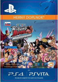 SK PS4 -One Piece Burning Blood - WANTED PACK