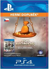 CZ PS4 - FOR HONOR 11 000 STEEL Credits Pack