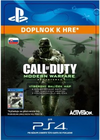 SK PS4 - Call of Duty: MWR VARIETY MAP PACK (EFIGSP))
