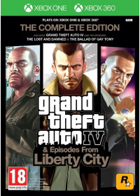 Grand Theft Auto IV: The Complete Edition (X360/Xbox One )