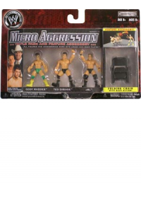 WWE Wrestling Action Figure 3-Packs Micro Aggression A Case 5 cm