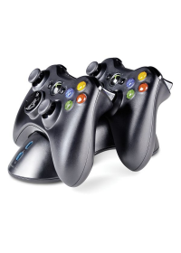 Speed-Link Bridge USB Charging System for Xbox 360 Gamepad, black
