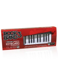 Rock Band 3 Wireless Keyboard + Game Bundle PS 3