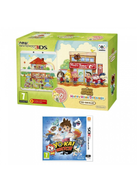 New Nintendo 3DS Animal Crossing HHD+YO-KAI WATCH