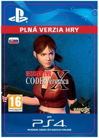 SK PS4 - Resident Evil Code: Veronica X