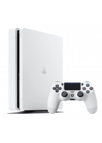 Sony PlayStation 4 Slim 500GB, glacier white