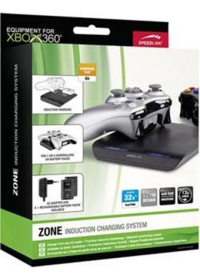ZONE Induction Charging System - for Xbox 360, black