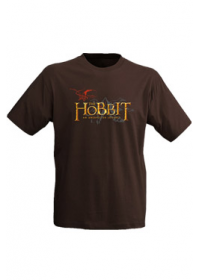Tričko The Hobbit Logo brown