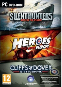 WAR Pack (Silent Hunter 5, Heroes over Europe, IL-2 Sturmovik: Cliffs of Dover)