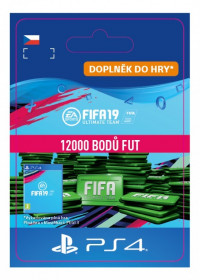 CZ PS4 - 12000 FIFA 19 Points Pack