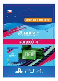 CZ PS4 - 1600 FIFA 19 Points Pack