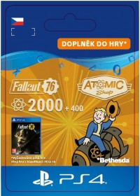CZ PS4 - Fallout 76: 2000 (+400 Bonus) Atoms