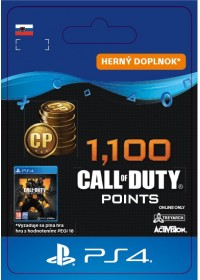SK PS4 - 1,100 Call of Duty®: Black Ops4Points
