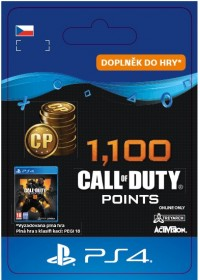 CZ PS4 - 1,100 Call of Duty®: Black Ops4Points