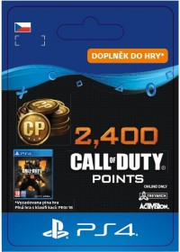 CZ PS4 - 2,400 Call of Duty®: Black Ops4Points