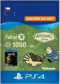 CZ PS4 - Fallout 76: 1000 (+100 Bonus) Atoms
