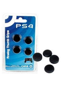 PS4 Controller Cap Set Thumb Stick ORB - čierne