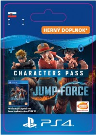SK PS4 - JUMP FORCE - Characters Pass
