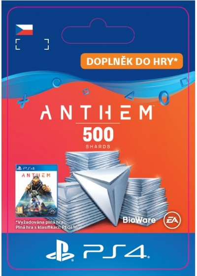CZ PS4 - Anthem™ 500 Shards Pack