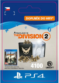 CZ PS4 - TomClancy'sTheDivision2–4100Credits