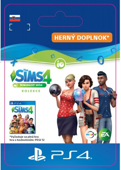 SK PS4 - The Sims™ 4 Bowling Night Stuff
