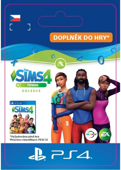 CZ PS4 - The Sims™ 4 Fitness Stuff