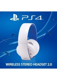 Sony PS4 Wireless 2.0 Boxed - WHITE