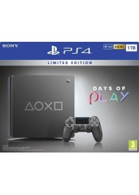PlayStation 4 Slim 1TB + 3 hry: (Uncharted 4, Ratchet & Clank, The Last of Us )