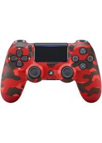 Sony DualShock 4 Wireless Controller V2 - Red Camouflage
