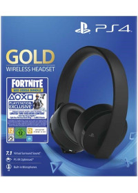 PS4 GOLD Wireless 7.1 headset, čierne + Fortnite 2000 V Bucks Neo Versa Bundle