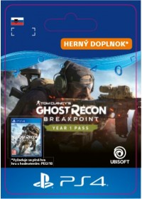 SK PS4 - Ghost Recon Breakpoint Year 1 Pass