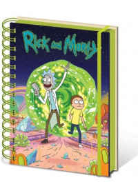 Cartoon Network - Rick and Morty (Portal) A5 Wiro Notebook (SR72404)