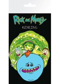 Rick and Morty - Meeseeks Rubber Keychain (KR0358)
