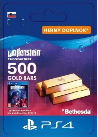 SK PS4 - Wolfenstein: Youngblood - 500 Gold Bars