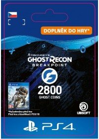 CZ PS4 - Ghost Recon Breakpoint - 2400 (+400) Ghost Coins