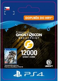 CZ PS4 - Ghost Recon Breakpoint - 9600 (+2400) Ghost Coins