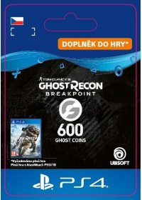 CZ PS4 - Ghost Recon Breakpoint - 600 Ghost Coins