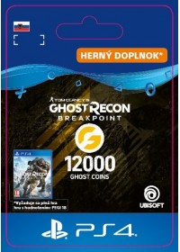 SK PS4 - Ghost Recon Breakpoint - 9600 (+2400) Ghost Coins