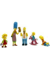 Sada figúrok THE SIMPSONS - 5 FIGURES COLLECTORS SET