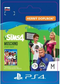 SK PS4 - The Sims™ 4 Moschino Stuff Pack