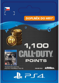 CZ PS4 - 1,100 Call of Duty®: Modern Warfare® Points