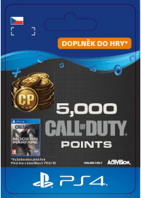 CZ PS4 - 5,000 Call of Duty®: Modern Warfare® Points