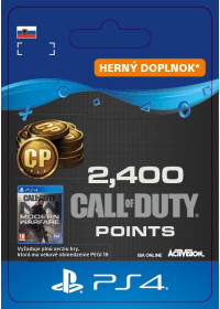 SK PS4 - 2,400 Call of Duty®: Modern Warfare® Points